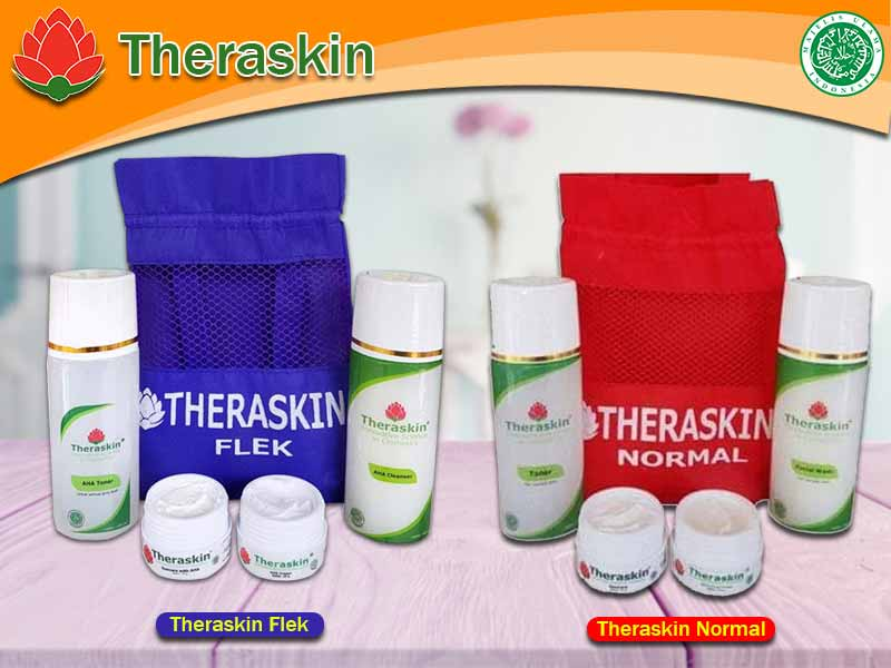Paket Theraskin Untuk Bekas Jerawat Dan Jerawat