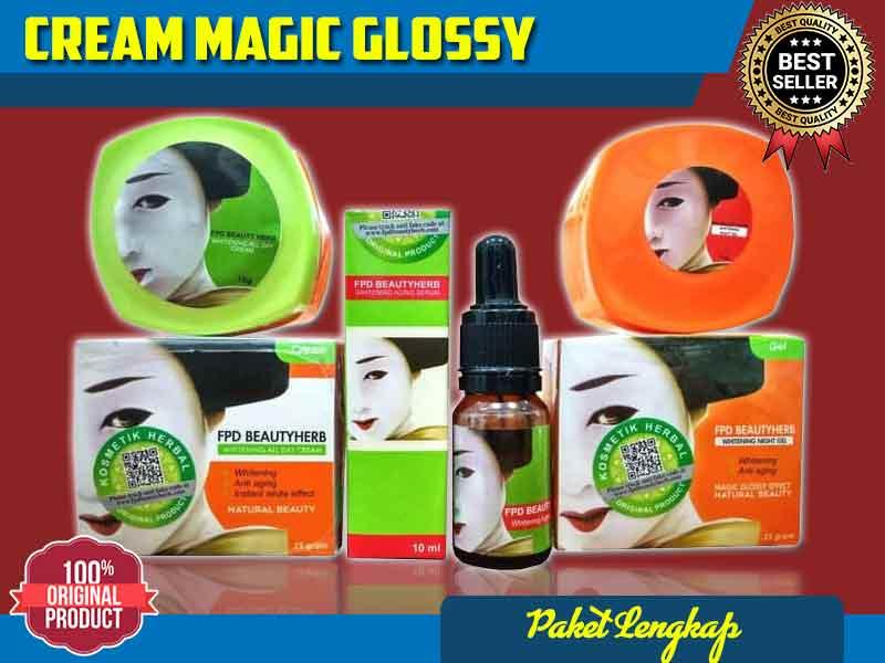 Dosis Pemakaian Magic Glossy Untuk Jerawat