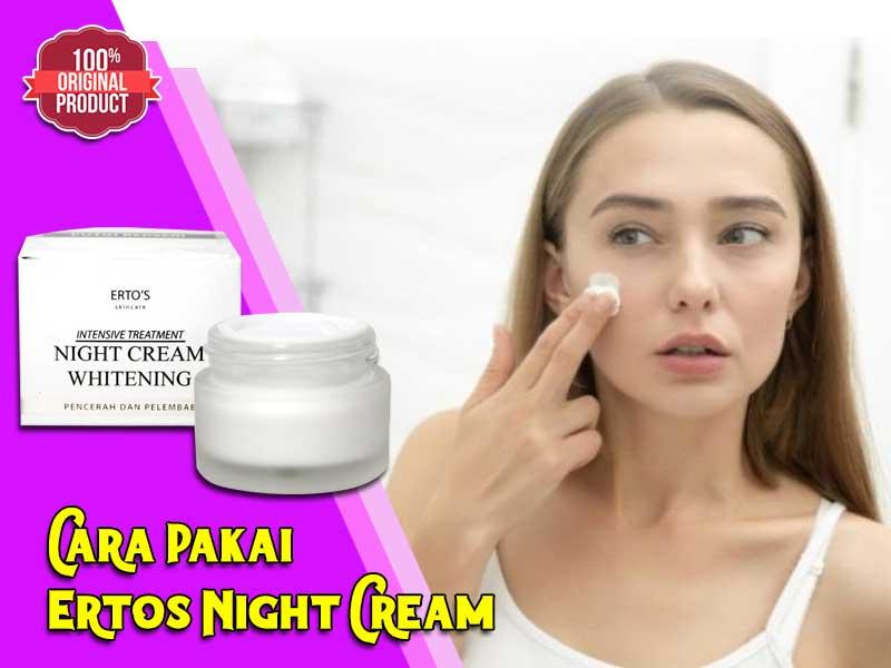Cream Malam Ertos Review Efek Samping