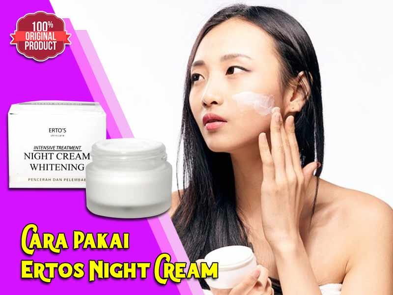 Cream Ertos Amankah Untuk Kulit Sensitif