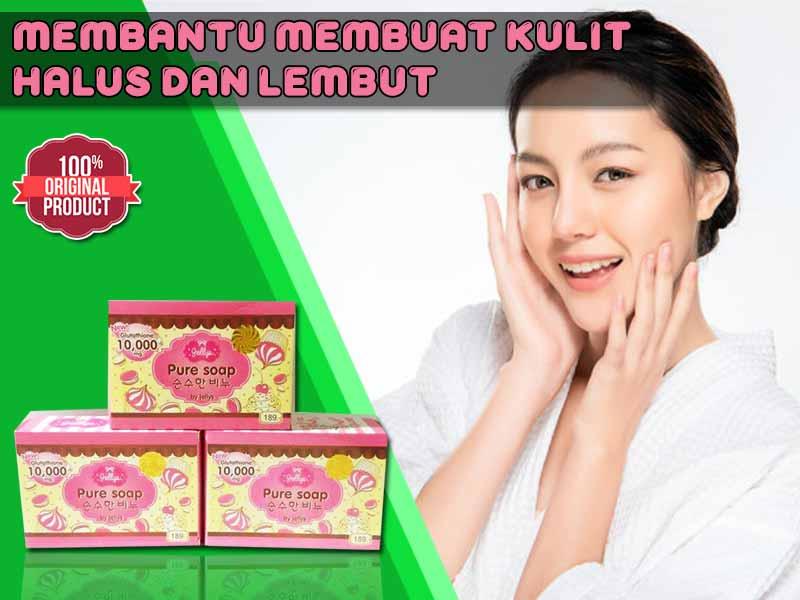 Inilah Khasiat Pure Soap Jellys Original