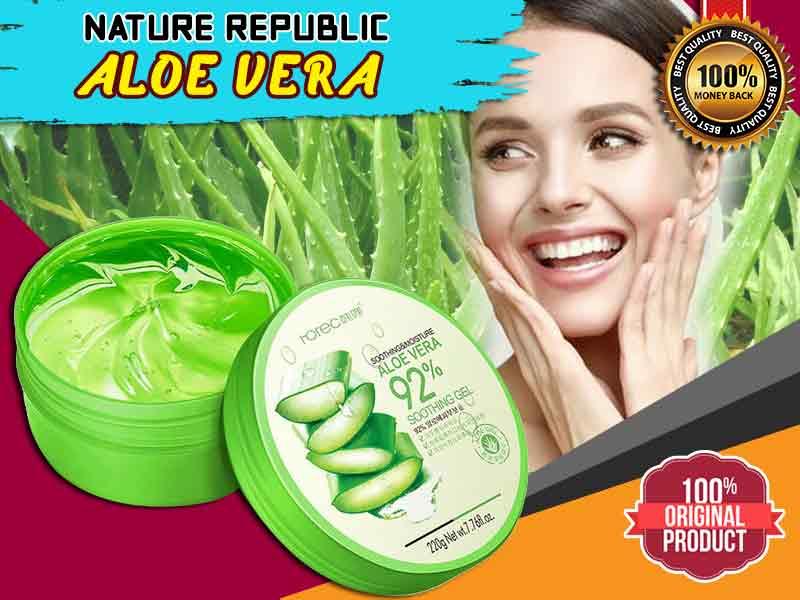 Cara Membedakan Aloe Vera Nature Republic Asli Dan Palsu