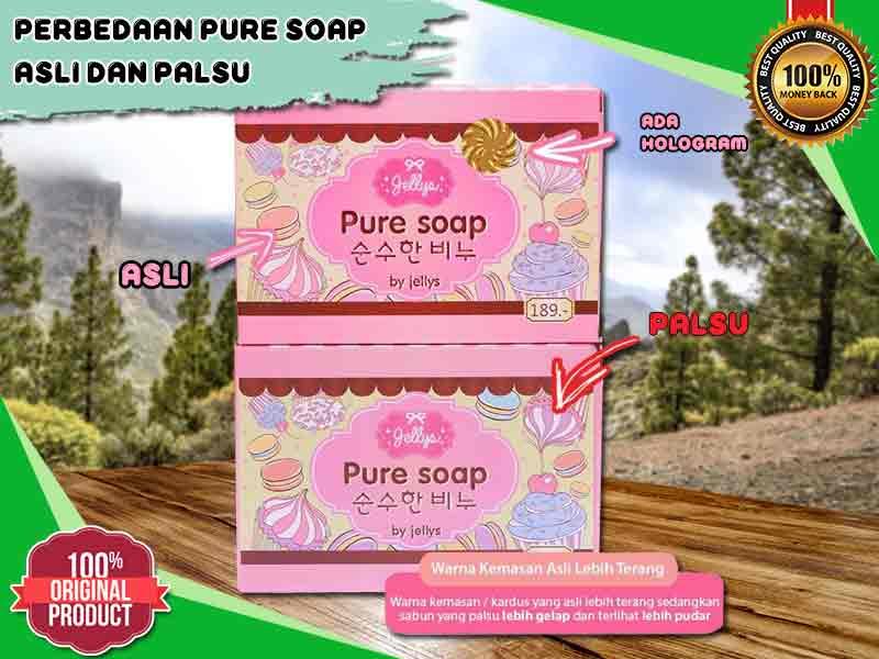 Cara Membedakan Pure Soap Asli Vs Palsu