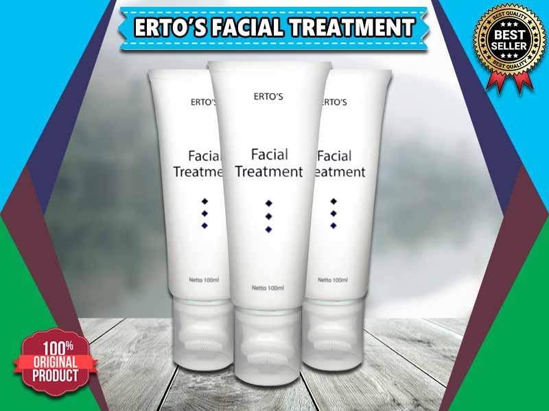 Nomor BPOM Ertos Facial Treatment Kemasan Asli