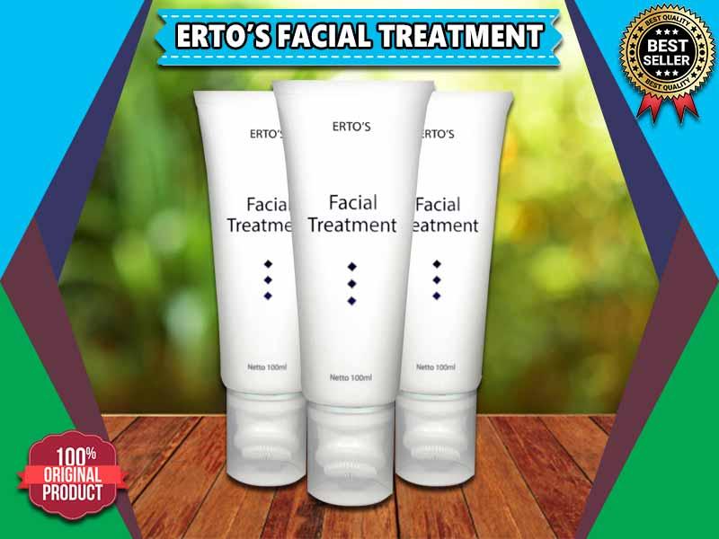 Keunggulan Ertos Facial Treatment Kemasan Asli