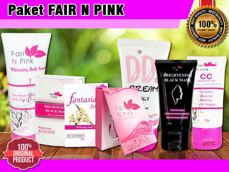 Kegunaan Fair And Pink Untuk Wajah