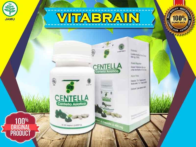 Ketahui Kandungan Vitabrain Centella Kemasan Asli